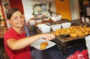 Schnitzelbuffet-All you can eat jeden Montag für nur 12,50 EUR - von 18.30 Uhr bis 22.00 Uhr