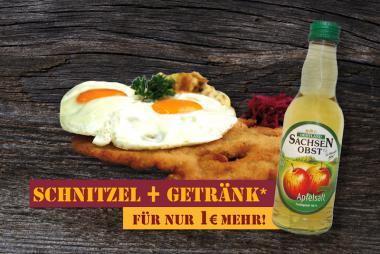 """DER GROßE HAMBURGER + Getränk"""