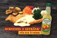 SCHNITZEL ''AMSTERDAM + Getränk''