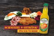 SCHNITZEL ''STRAMMER MAX + Getränk''
