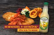 SCHNITZEL ''ZIGEUNER ART + Getränk''
