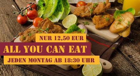 Schnitzel-Buffet - All you can eat
