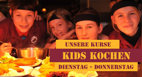 Kids kochen im Schnitzel Culture